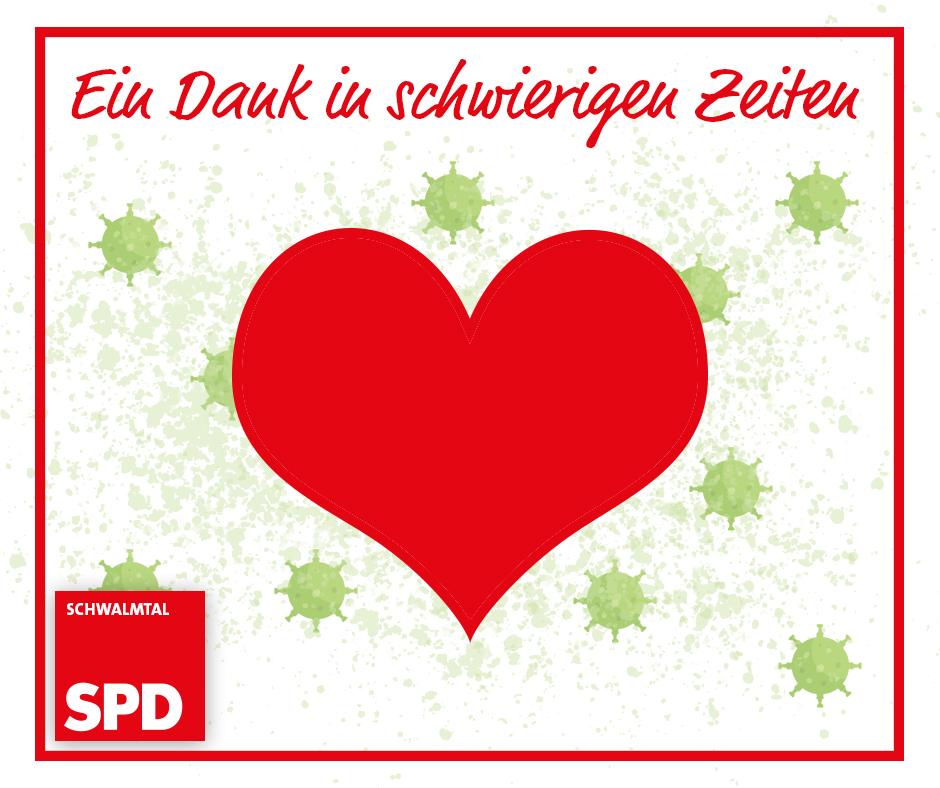 Danke von Ihrer SPD Schwalmtal