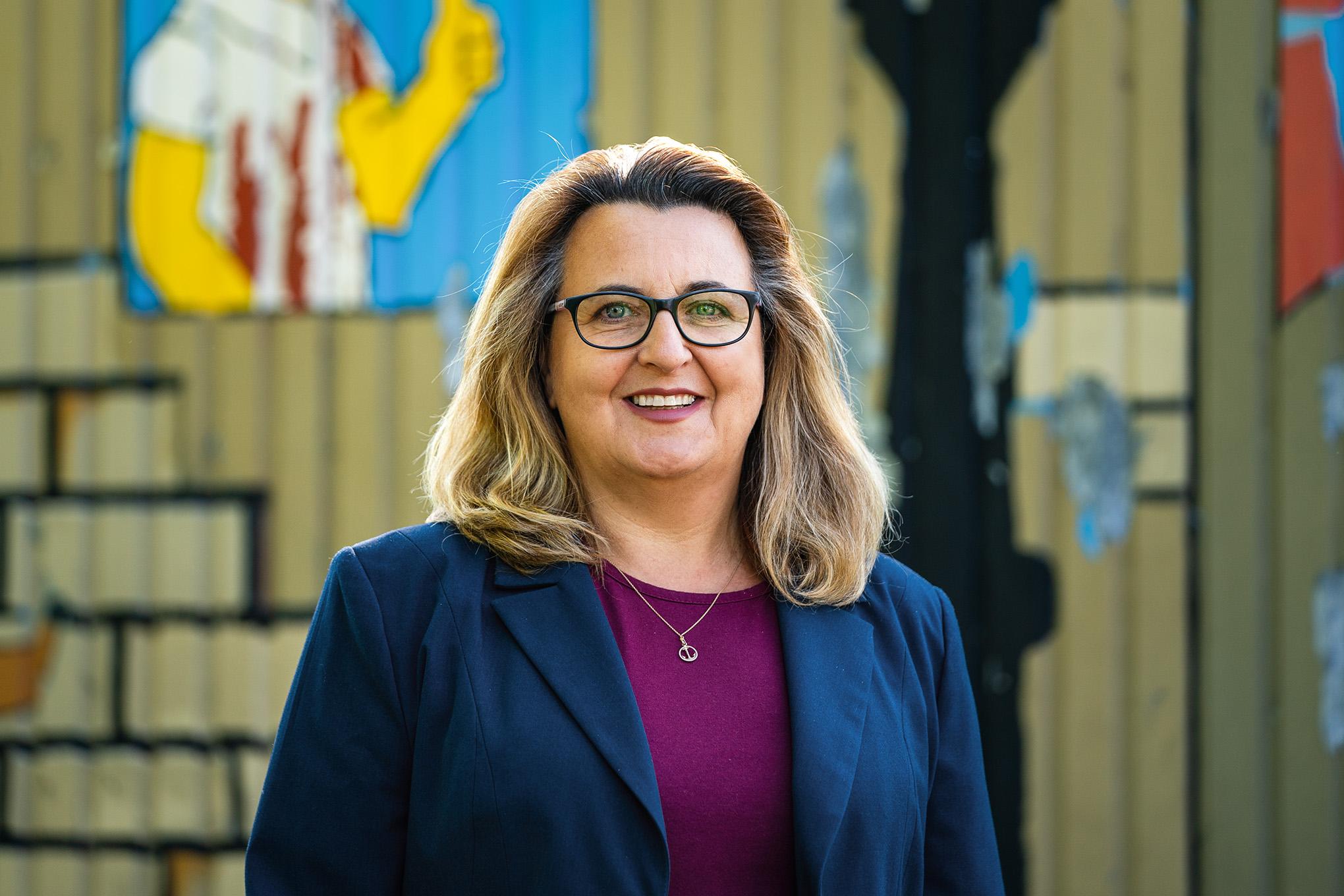 Wahlkreiskandidatin der SPD Schwalmtal